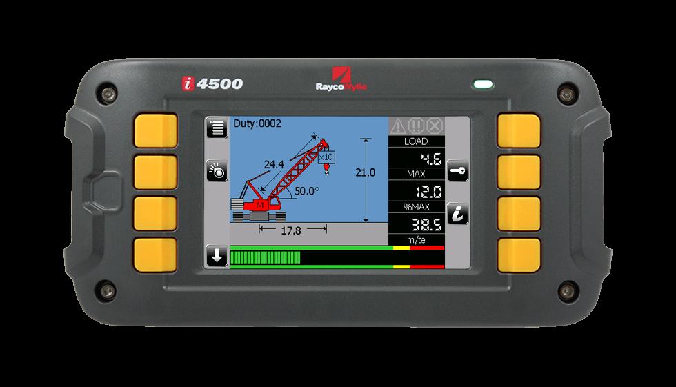 i4500 load indicator rayco wylie